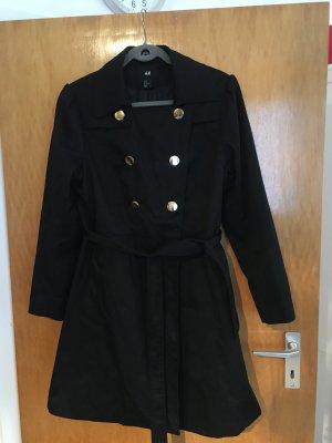 Mantel 44 schwarz schick