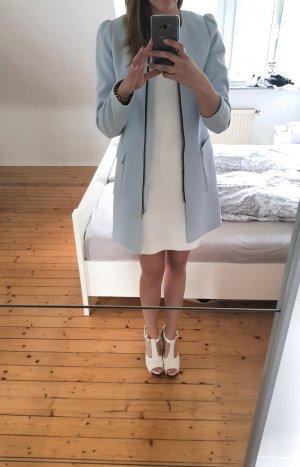 H&M Veste longue bleu azur