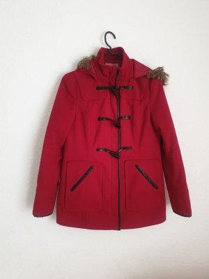 Orsay Gabardina tipo vestido rojo oscuro-carmín
