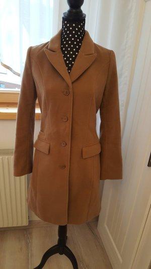 H&M Wool Coat beige mixture fibre