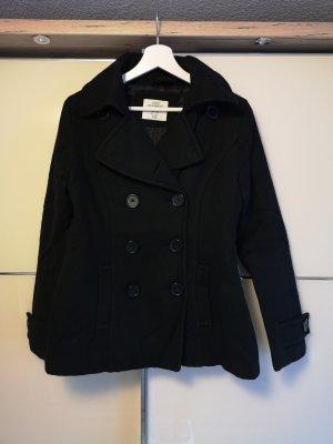 H&M Abrigo corto negro
