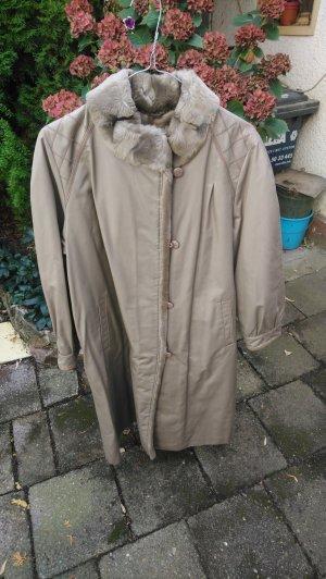 Floor-Lenght Coat grey brown