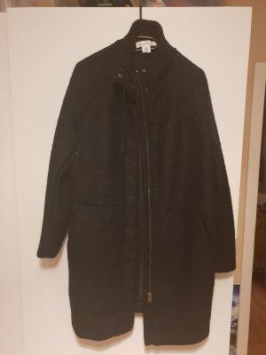 H&M Abrigo de punto negro