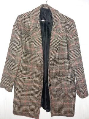 0039 Italy Vestido de lana marrón grisáceo