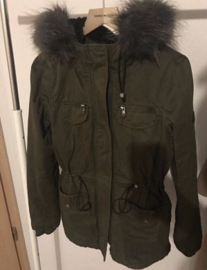 Vero Moda Hooded Coat dark green
