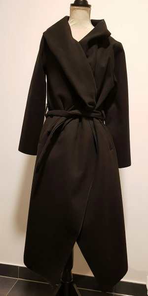 no name Long Jacket black