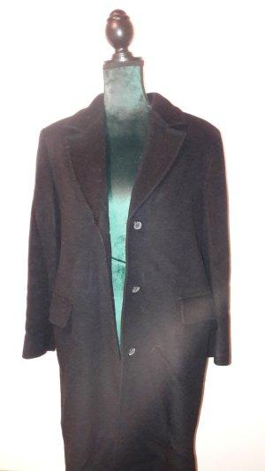 MaxMara Weekend Abrigo de invierno azul oscuro lana de esquila