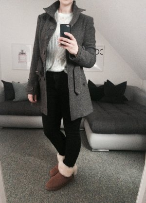 Avanti Manteau mi-saison gris foncé polyester