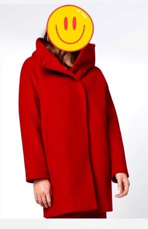 100% Fashion Manteau oversized rouge