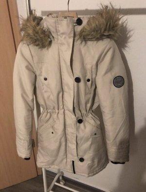 Vero Moda Manteau à capuche beige clair