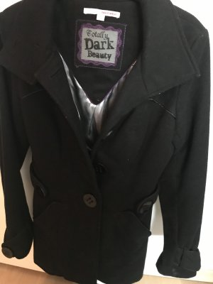 Tally Weijl Heavy Pea Coat black
