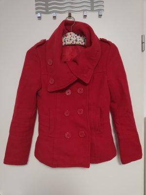 HM Abrigo corto rojo ladrillo
