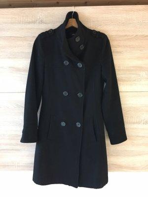Heavy Pea Coat black