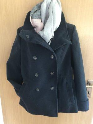 H&M Duffel Coat dark blue