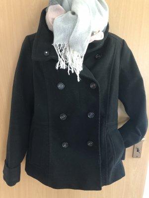 H&M Duffel Coat black