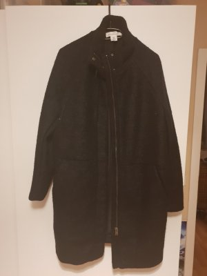 H&M Knitted Coat black