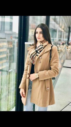 0039 Italy Manteau d'hiver marron clair