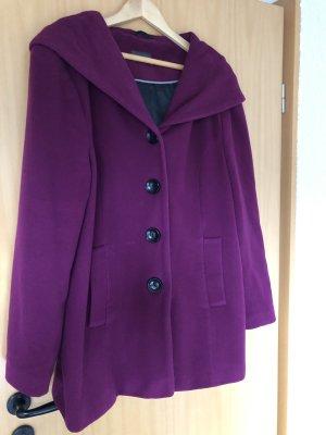 Adagio Cappotto in lana viola