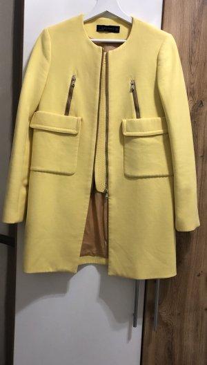 Zara Woman Coat primrose