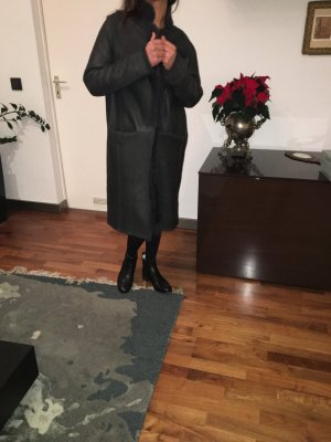 Mantel aus 100% Lammfell