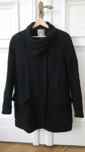 Mantel aus 52% Wolle, Zara