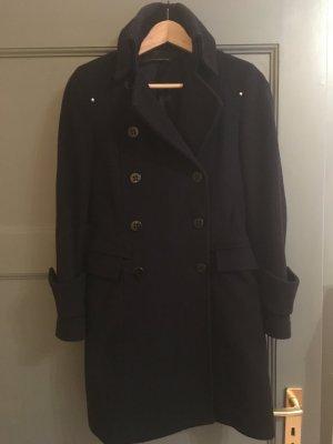 Mantel aus Cashmere und Wolle