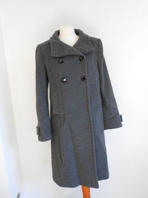 Mantel aus Kashmir und Schurwolle