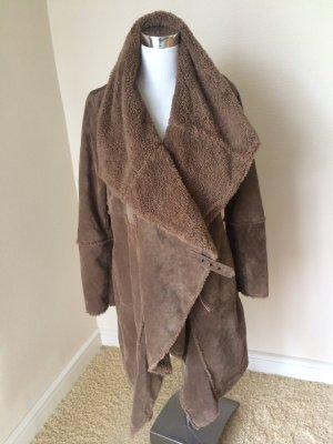 Mantel aus Nubikleder von Oakwood