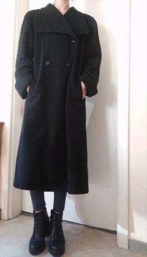 Mantel aus Schurwolle, Langmantel