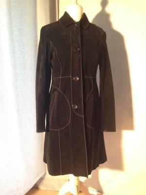 Mantel aus Wildleder von H&M