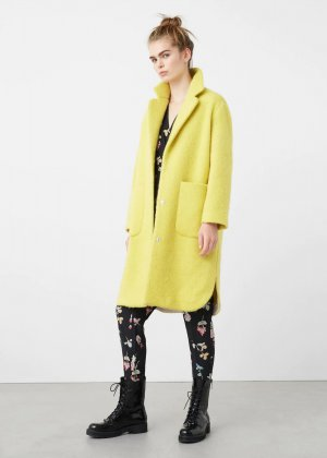 Mango Coat yellow