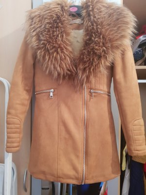 & other stories Pelt Coat camel
