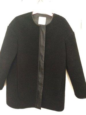 Mango Suit Manteau d'hiver noir