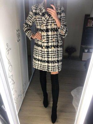 Balmain Manteau en laine multicolore