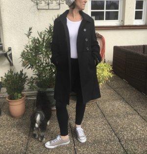 Barbour Wool Coat black