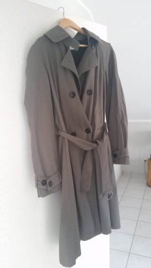 René Lezard Trench Coat grey