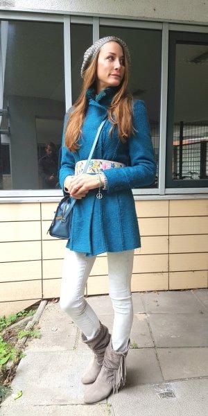 Mantel BECCA aus hochwertigem Schurwoll-Gemisch