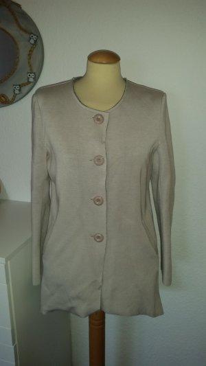 Mantel beige grau Gr. 38