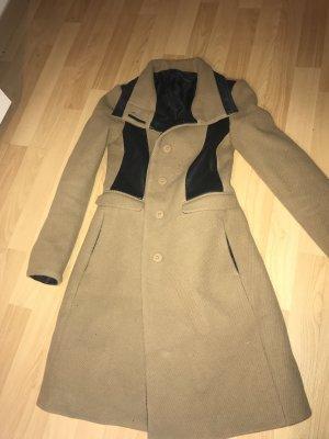 Zara Manteau mi-saison beige-noir