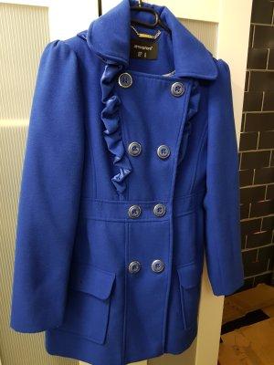 Mantel blau Gr. 38