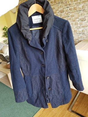 mantel blau gr. 38 canda