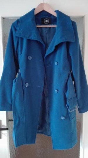 Mantel blau schick Übergang