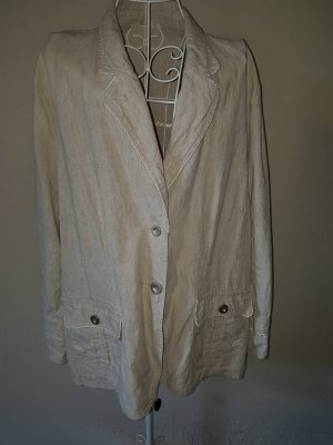 Mantel/Blazer in Beige Gr. 42/44
