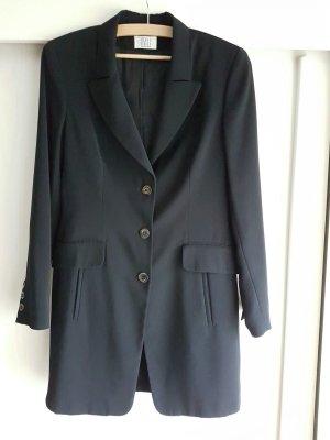 Mantel / Blazer in schwarz Gr S