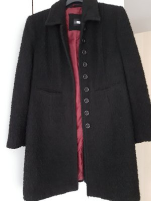 One Touch Abrigo corto negro