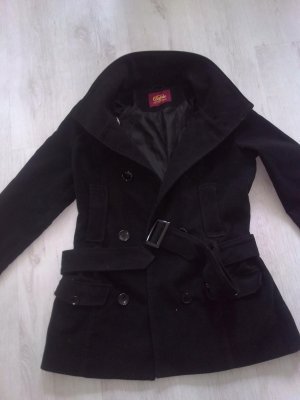Buffalo Heavy Pea Coat black-cream