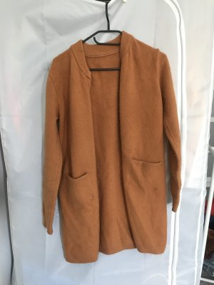 1060 Heavy Pea Coat cognac-coloured