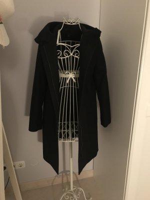 COS Cappotto con cappuccio nero