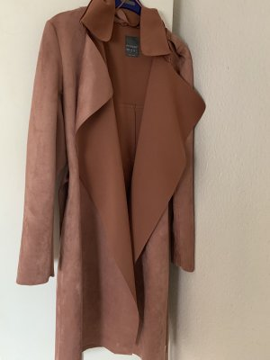 100% Fashion Trench Coat rose-gold-coloured