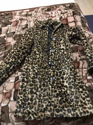 Mantel CALLIOPE ITALY Leopard Leo-Muster M/ L 38 *TOP*
